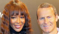 Naomi Campbell's still-married fiancé might finally be headed for a divorce