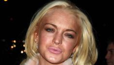 Did Lindsay Lohan slander her completely clean hit-and-run victim?