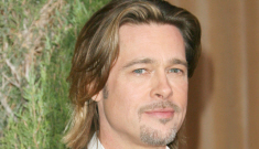 Brad Pitt is crushing on Berenice Bejo and Angelina Jolie is super-pissed