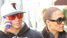 "Casper Smart got Jennifer Lopez's name tattooed on his ""nether regions"""