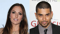 "Minka Kelly and Wilmer Valderrama ""definitely not a couple."" Is she embarrassed?"