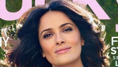 "Salma Hayek: ""I had acne so bad it sent me into a severe depression"""