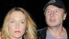 Liam Neeson steps out with Freya St. Johnston, his girlfriend of a year & a half