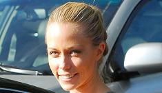 Kendra Wilkinson's fiance says Hugh Hefner is like a father to her