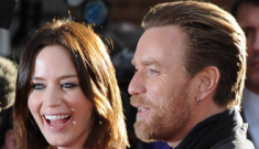Emily Blunt & Ewan McGregor at London premiere: who would you rather?