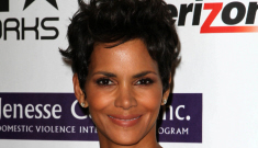 Halle Berry in animal print Dolce & Gabbana at charity gala: busted or beautiful?