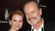 Kelsey Grammar gets his fourth wife's name tattooed on his waist: sweet or asinine?