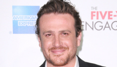 Jason Segel & Michelle Williams were majorly loved up at the Tribeca Film Festival