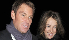 Liz Hurley & Shane Warne are planning two weddings in the UK & Australia