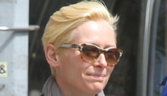 Tilda Swinton steps out with her furry, 18-years-younger lover, Sandro Kopp