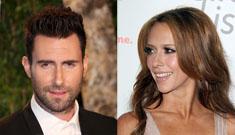 "Adam Levine on Jennifer Love Hewitt wanting to date him: ""that was aggressive"""