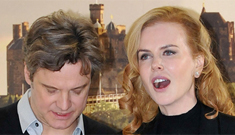 Nicole Kidman & Colin Firth in Edinburgh: adorable or too matchy-matchy?