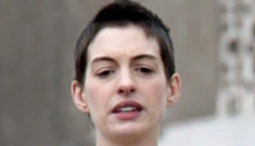 Anne Hathaway on a 500-calorie diet, gargling with egg whites for 'Les Mis'