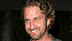 """Gerard Butler found true love (for one night) with another """"mystery brunette"""""""