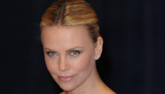 Charlize Theron in Emilio Pucci at the Correspondents Dinner: gorgeous?
