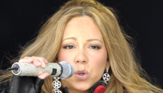 Mariah Carey brings her uncomfortable cameltoe to Austria: just embarrassing?