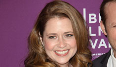 Jenna Fischer:  Who cares if our boobs are hanging low and we have a little junk?