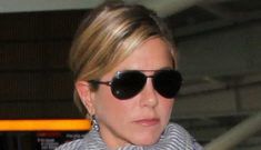 Jennifer Aniston cancels wedding plans, now plotting revenge on Angelina Jolie