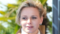 Princess Charlene is not pregnant, depressed, tacky & friendless, sources say