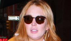 Lindsay Lohan isn't back with Sam Ronson, but she is hanging out with Woody Allen