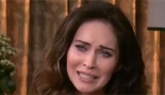 Megan Fox shuts down ET interview after fielding pregnancy questions