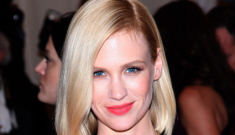 January Jones vs. Jessica Paré: which Mrs. Draper looked better at the Met Gala?