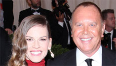 Hilary Swank in Michael Kors at the Met Gala: knockout or her styling is off?