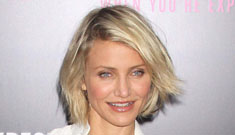 Cameron Diaz at the What to Expect premiere: too waitressy or casual cute?