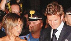 Japanese filmmakers breach Beckham estate