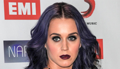 Katy Perry goes for goth at the NARM awards: ridiculous or not that bad?
