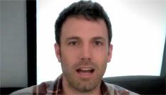 """Ben Affleck makes a Mother's Day video, calls Jennifer Garner a """"world class mom"""""""