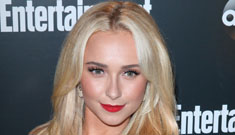Hayden Panettiere in red Moschino at ABC upfronts party: too vampy or sexy?