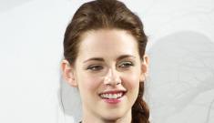 Kristen Stewart in a BCBG minidress in Madrid: boring   or awesome?