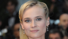 Diane Kruger in gold Vivienne Westwood in Cannes: perfection?