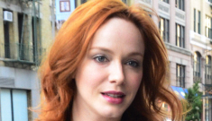 Christina Hendricks out & about in NYC, plus some thoughts on 'Mad Men'