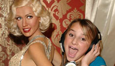 Want to sing karaoke in the bathroom with Christina Aguilera?