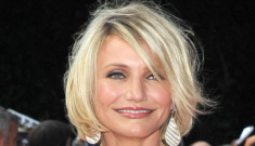 Cameron Diaz in a white Stella McCartney onesie: busted or beautiful?