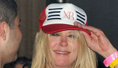 Tara Reid is drunk at Cannes, might be dating a 60-year-old jewelry designer