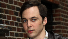 """Jim Parsons """"is gay and in a 10-year relationship,"""" says   the New York Times"""