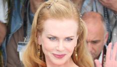 Nicole Kidman in orange-red Antonio Berardi in Cannes: Botoxy or beautiful?