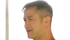 Joseph Gordon Levitt's new meathead look (for a movie): would you hit it?