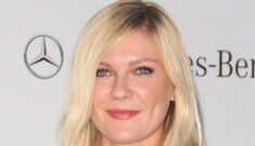 Kirsten Dunst in Louis Vuitton at the amfAR gala: bumpy or just an unflattering gown?