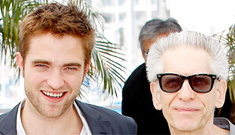 Rob Pattinson at the Cannes photocall for Cronenberg's 'Cosmopolis': adorable?