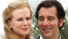 Nicole Kidman and a muttonchopped Clive Owen in Cannes: sexy or awful?