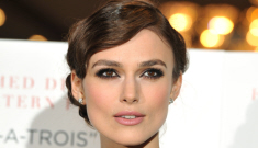 Keira Knightley is engaged to her boyfriend of a year and a half, James Righton