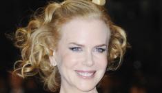 Nicole Kidman in bronze, metallic Ralph Lauren in Cannes: gorgeous or rough?