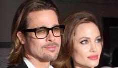 Angelina Jolie cancels summer wedding plans, Brad Pitt cries about it