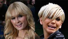 """Sarah Harding on Paris Hilton"" morning links"