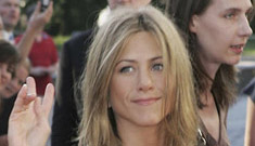 Is Jennifer Aniston pregnant? Does anyone freaking care? (update)