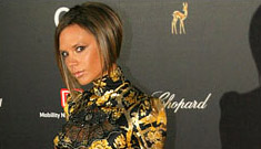 Is Posh preggers? Video and pictures from the German Bambi awards